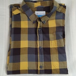Columbia long sleeve plaid shirt size XL